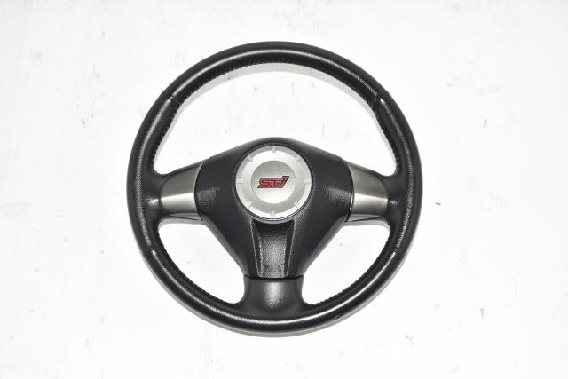 Used JDM V10 STi GR Steering Wheel Assembly for Sale 2008-2014