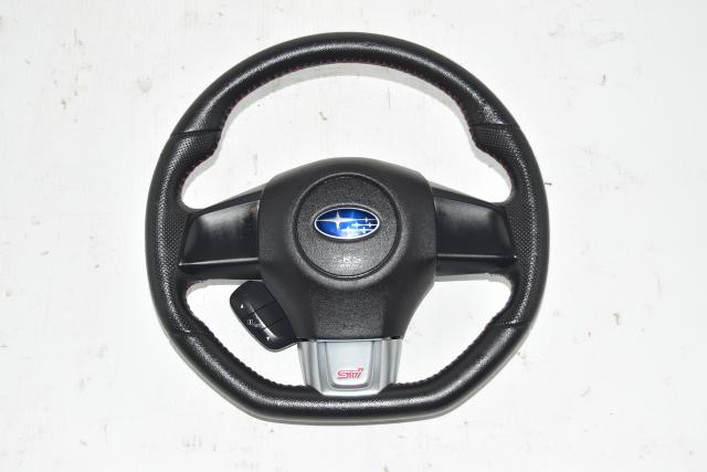 Used JDM VA STi 2015-2020 Subaru Steering Wheel Assembly for Sale