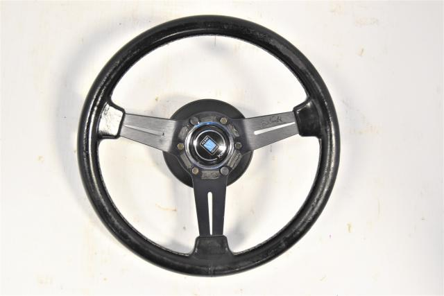 Used JDM Subaru Nardi Torino Steering Wheel Assembly for Sale GDB STi