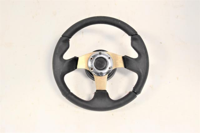 Used JDM Subaru GDB STi 2002-2007 Aftermarket Steering wheel with Spacers for Sale