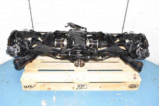 Used JDM Nissan 300ZX 90-99 Complete Rear Subframe for Sale with Axles, Rear Viscous LSD, Hubs, Rotors, Calipers & RHD Steering Rack