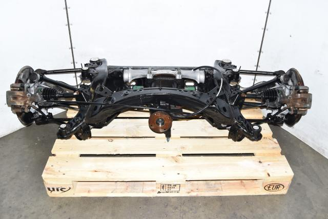 Used Mazda RX8 SE3P Rear Subframe for Sale with Differential, Axles, Rotors & Calipers 2004-2008