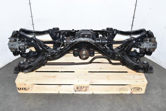 Used Nissan Silvia S14 240SX Rear Subframe for Sale with Rear Diff, Axles, Hubs, Rotors & Calipers