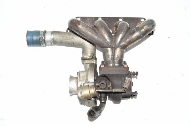 Used JDM Honda D-Series Turbo Manifold for Sale with Blown Turbocharger GReddy