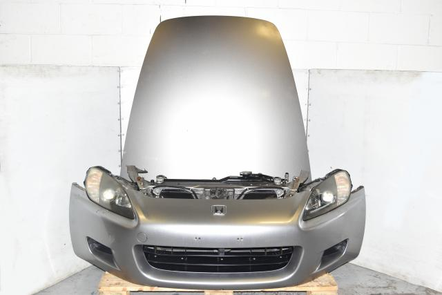 Used Honda JDM S2000 AP1 2000-2003 Autobody Nose Cut with Hood, Fenders, Front Bumper, Rad Support & Headlights