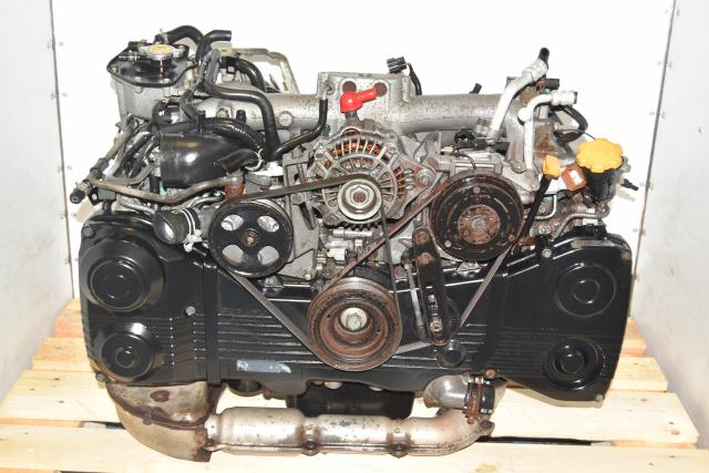 Used JDM AVCS Subaru DOHC TF035 Turbocharged EJ205 WRX 2002-2005 TGV Delete Engine for Sale