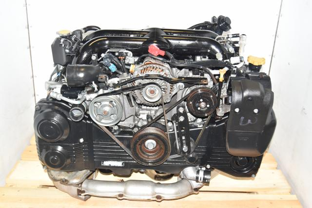 Used JDM Replacement EJ255 2.5L Single AVCS, Single Scroll, DOHC 2008-2014 WRX, Forester & Legacy GT Engine
