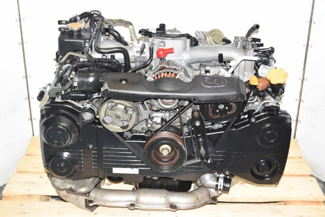 Used JDM Subaru WRX 2002-2005 TD04 EJ205 AVCS Replacement Engine for Sale
