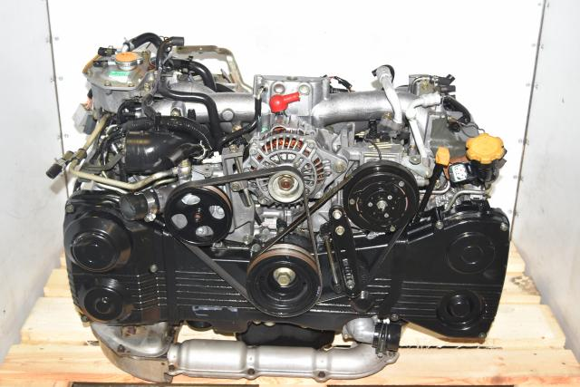 Used Subaru WRX 2002-2005 TGV Delete AVCS DOHC TF035 Turbocharged Engine for Sale