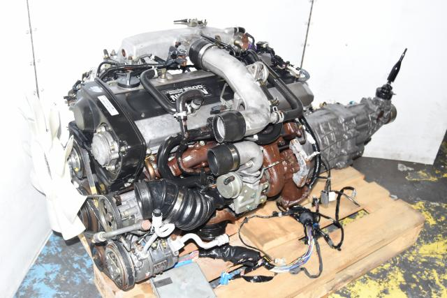 Used JDM Nissan Skyline R33 GTST S2 RB25DET Engine for Sale with RWD 5-Speed Manual Transmission