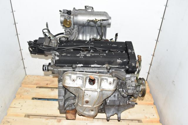 Used JDM CR-V 2.0L B20B P75 Head with Tall P3F High Intake Manifold 1999-2001 Engine Swap for Sale