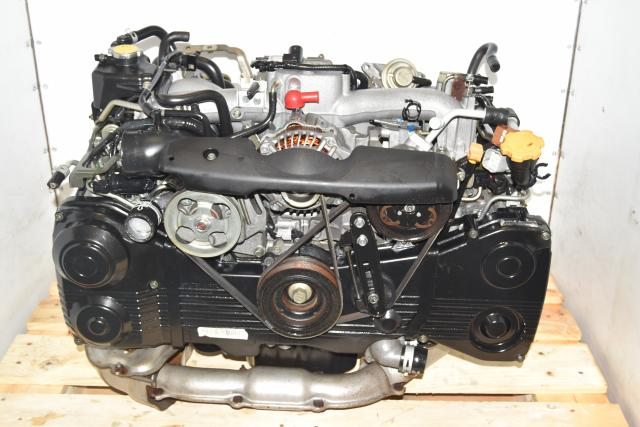 Used WRX 2002-2005 TD04 Turbocharged AVCS DOHC EJ205 Engine for Sale