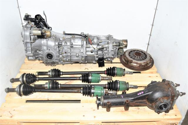 Used JDM Push-Type Legacy GT / WRX 2006-2014* 5-Speed Manual Transmission with GD Axles, Rear 4.444 LSD & Clutch for Sale