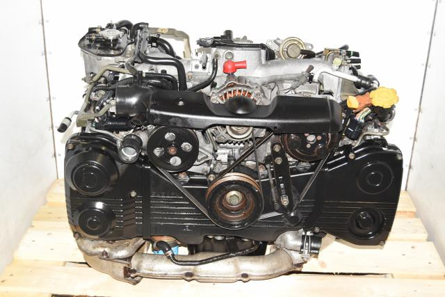 Used Subaru WRX 2002-2005 2.0L JDM EJ205 DOHC AVCS Engine with TD04 Turbo