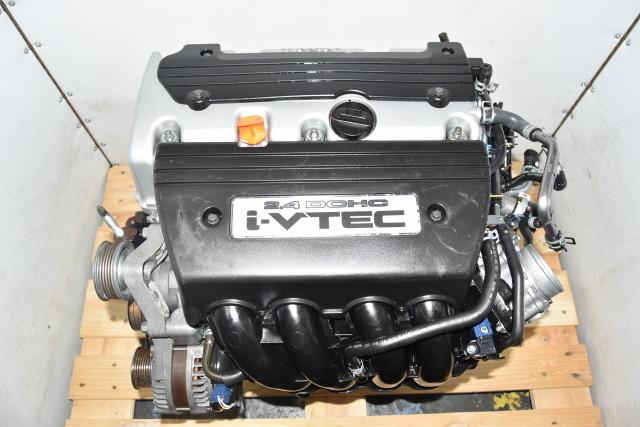 Used JDM Honda Accord 2008-2012 2.4L K24A Honda TSX 2009-2014 Replacement i-VTEC DOHC Engine Swap for Sale