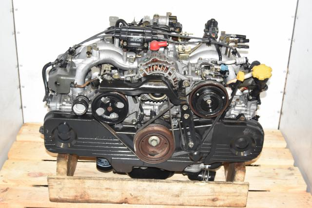 Used JDM EJ201 2.0L Forester & Legacy 1999-2003* SOHC NA Engine for Sale with EGR
