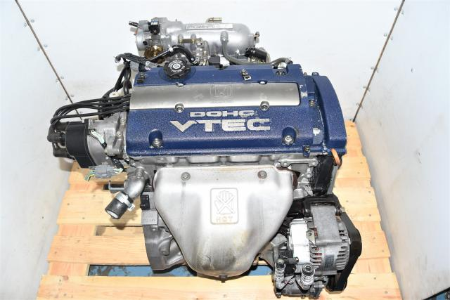 Used JDM Honda Accord SiR / Prelude 2.0L F20B DOHC VTEC Blue-Top 1999-2002 Engine for Sale