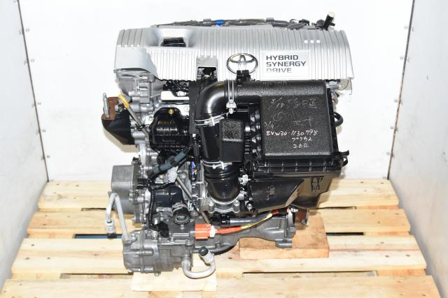Used Toyota Prius & Lexus CT200h 1.8L 2ZR-FXE Hybrid Replacement 2010-2015 Engine Japanese motors import jdm 2zr engines for sale