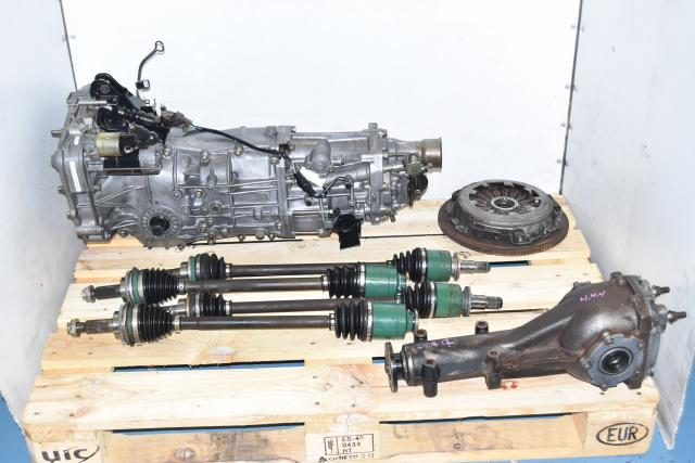 Used JDM Subaru WRX GDA 2002-2005 5-Speed Manual Transmission with Rear 4.444 LSD, Axles & Clutch