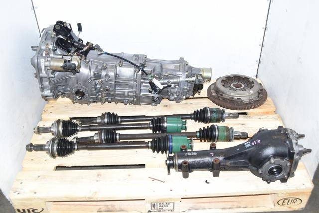 WRX 2002-2005 GDA 2.0L Replacement 5-Speed Manual Transmission, Front & Rear Axles & Rear 4.444 LSD