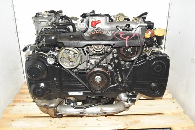 Used Subaru WRX 2002-2005 2.0L EJ205 DOHC AVCS TD04 Turbocharged Engine