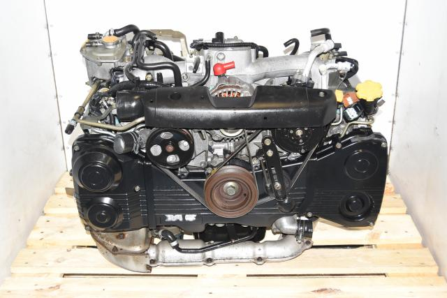 Used Subaru AVCS TGV Deleted JDM 2002-2005 EJ205 2.0L TF035 Turbocharged Engine for Sale