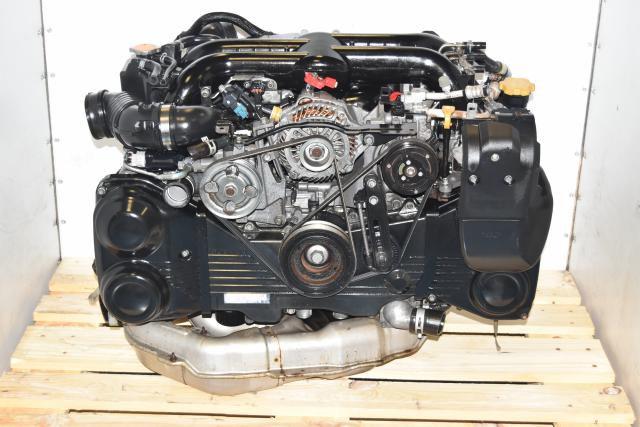 Used JDM Twin Scroll DOHC Dual AVCS 2.0L EJ20Y Replacement Engine with VF44 Turbo
