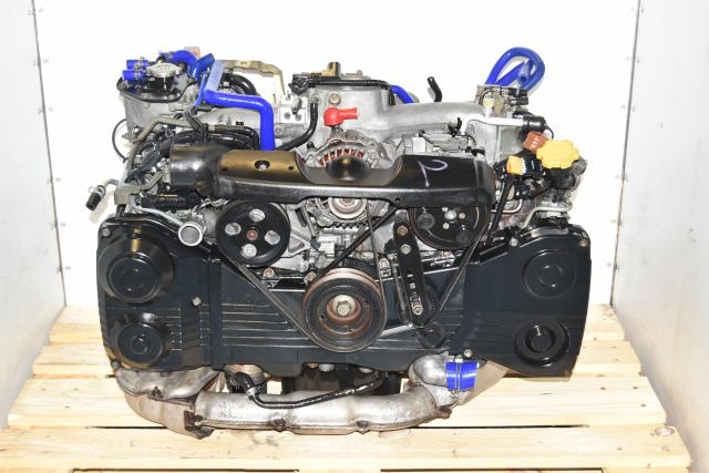 Replacement AVCS DOHC 2.0L EJ205 WRX 2002-2005 JDM TD04 Turbocharged Engine for Sale