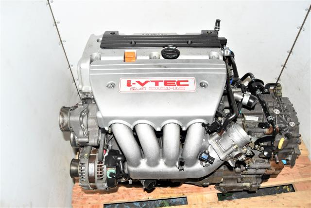 Used JDM 2.4L Honda Accord 2004-2008 K24A i-VTEC RBB Replacement Engine & MGTA Transmission Package for Sale
