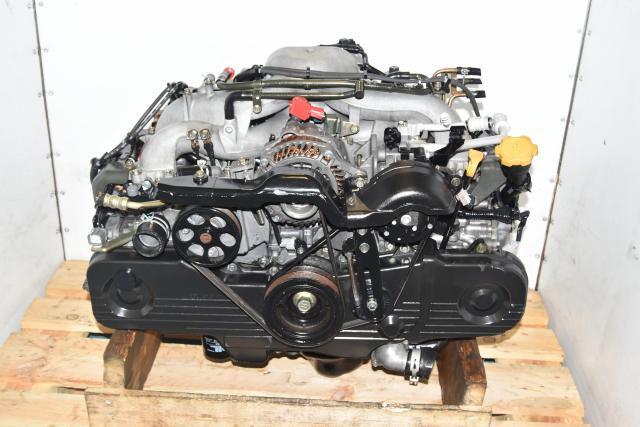Used JDM Subaru Impreza RS SOHC 2L NA Motor, 2.0L Replacement Engine for 2.5L EJ253