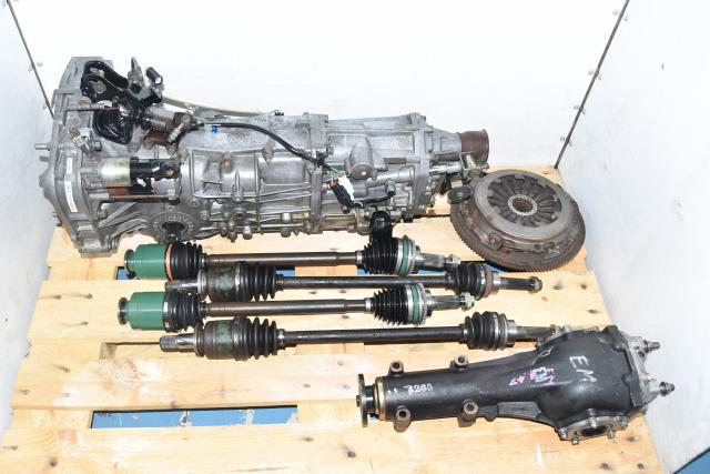 Used Subaru WRX 5-Speed Manual Replacement 2002-2005 GDA Transmission with Axles, Rear 4.444 LSD & Clutch