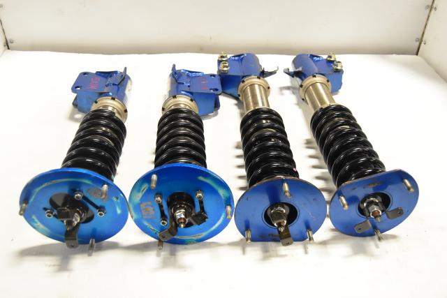 Used JDM Subaru WRX STi 2004-2007 5x114.3 Aftermarket CUSCO Adjustable Coilovers for Sale
