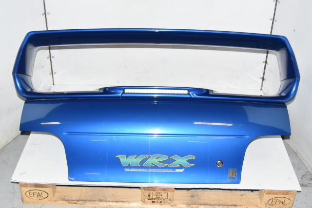 Used JDM GC8 OEM Type-RA STi 1999 WRB Complete Trunk Assembly with Spoiler for Sale
