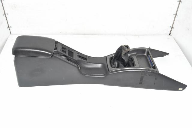 Used JDM Subaru GC8 Type-RA STi 1999 Interior Center Shift Console Trim, Bezel, Shroud with Armrest Panel / Assembly