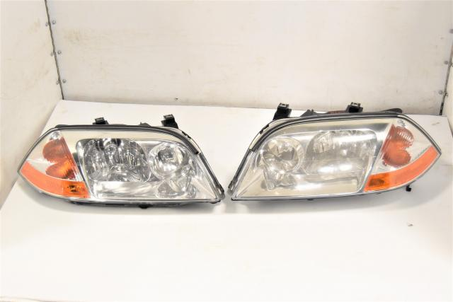 Used Acura MDX 2001-2003 JDM OEM Left & Right Front Headlights
