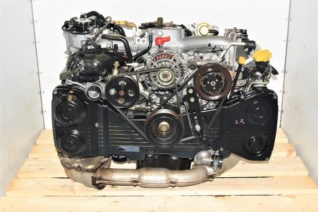 Used JDM WRX Subaru 2.0L AVCS EJ205 DOHC Replacement 2002-2005 TD04 Turbocharged Engine