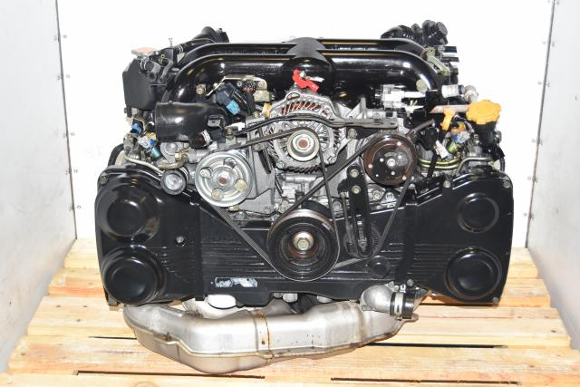Used JDM Subaru Legacy 2004-2005 Twin Scroll EJ20X Dual-AVCS DOHC 2.0L Replacement Engine for Sale
