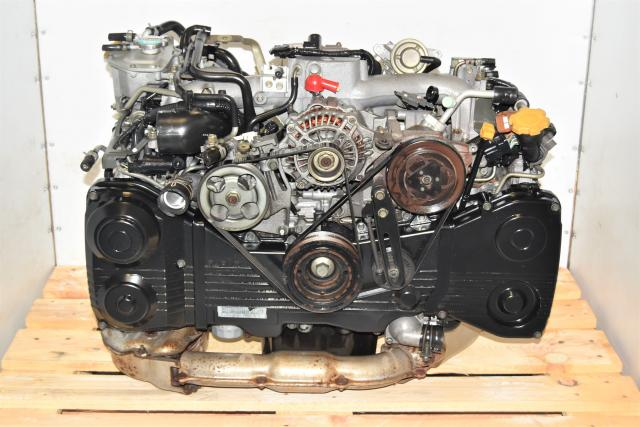 Used Subaru JDM EJ205 DOHC AVCS WRX 2002-2005 2.0L TD04 Turbocharged Engine Swap
