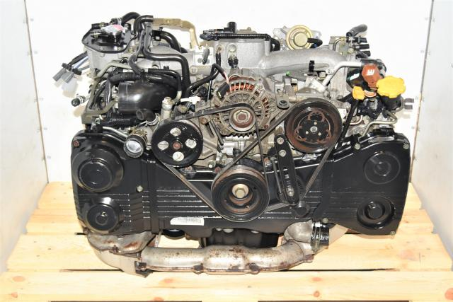 Used JDM Subaru EJ205 WRX 2002-2005 AVCS 2.0L Engine with TD04 Turbo