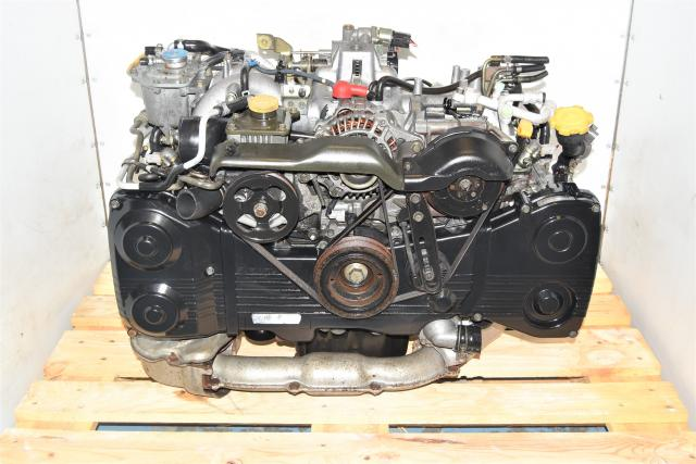 Used JDM Subaru 2.0L Non-AVCS WRX 2002-2005 DOHC TD04 Turbocharged Engine Swap for Sale