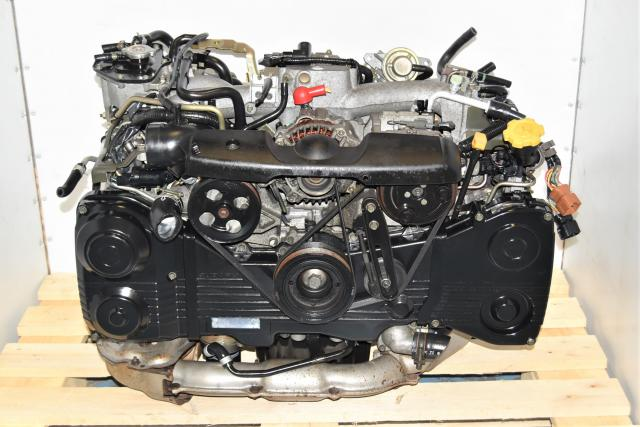 Used JDM Subaru EJ205 2.0L AVCS DOHC TD04 Turbocharged Replacement WRX Engine