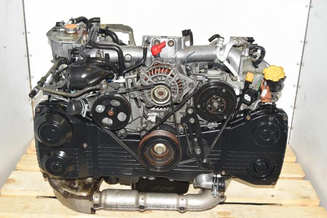 Used Subaru JDM 2.0L TF035 Turbocharged Single Scroll AVCS TGV Delete EJ205 Engine