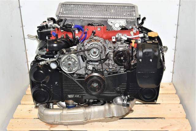Used Subaru GR STi 2008-2014 EJ207 2.0L JDM Replacement Dual-AVCS Twin Scroll VF49 Turbocharged Engine for Sale