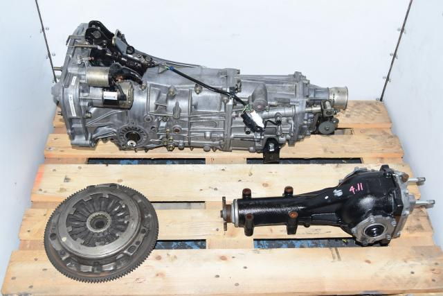 Used Subaru Replacement 5-Speed Manual Transmission with Matching R160 Rear 4.11 Differential WRX 2002-2005