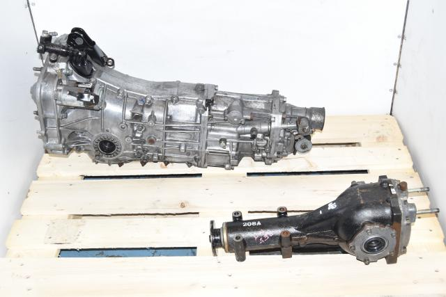 Used Subaru JDM 5-Speed Manual 2008-2014 Transmission with Matching 4.11 Rear Differential