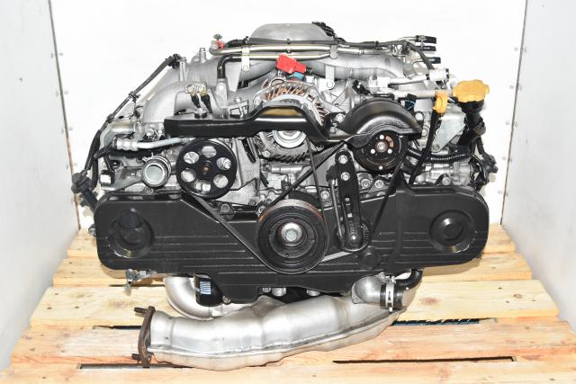 Used JDM Subaru SOHC Impreza RS 2004 Naturally Aspirated EGR Long Block 2.0L Replacement Engine