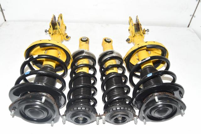 Used JDM Subaru Legacy 2004-2009 Replacement Yellow Bilstein Suspensions for Sale