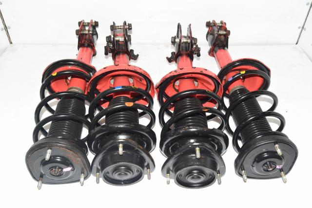 Used Red Subaru STi 2004-2007 5x100 Front & Rear Suspensions for Sale