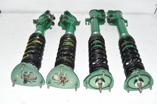 Used Subaru JDM WRX 5x100 GDB GDA Adjustable TEIN Super Street Coilovers 2002-2007