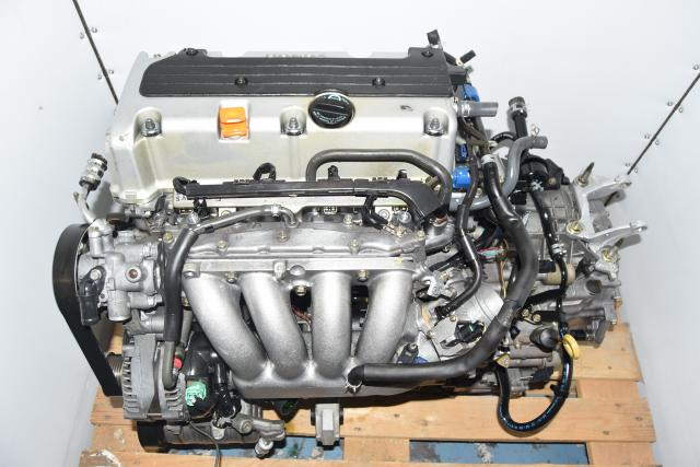 Used JDM 2.4L Honda Accord / TSX 2004-2008 i-VTEC Replacement RAA Engine & MFKA Transmission For Sale